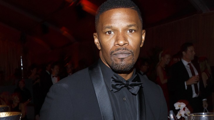 BEVERLY HILLS, CA - JANUARY 10: Actor Jamie Foxx attends The Weinstein Company and Netflix Golden Globe Party, presented with DeLeon Tequila, Laura Mercier, Lindt Chocolate, Marie Claire and Hearts On Fire at The Beverly Hilton Hotel on January 10, 2016 in Beverly Hills, California.   Rich Polk/Getty Images for The Weinstein Company/AFP
