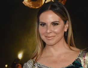 "FILE - Mexican actress Kate del Castillo arrives for the Centerpiece Gala Premiere of Alcon Entertainment's 'The 33' during AFI FEST 2015 presented by Audi at TCL Chinese Theatre in Hollywood, California on November 9, 2015. Mexican drug lord Joaquin ""El Chapo"" Guzman fawned over the ""beautiful"" actress Kate del Castillo, while she confessed her ""dream"" of meeting him in leaked text messages filled with warm exchanges. The chats, published by the newspaper Milenio on January 13, 2015, took place before and after Guzman, Del Castillo and US actor Sean Penn sat down for a now notorious meeting in the Mexican jungle in October.          AFP PHOTO/MARK RALSTON / AFP / MARK RALSTON"