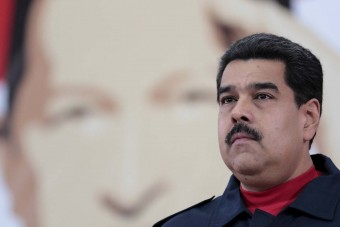 Venezuela's President Nicolas Maduro attends a meeting with members of Venezuela's United Socialist Party (PSUV) in Caracas, in this handout picture provided by Miraflores Palace on January 29, 2016. Picture taken on January 29, 2016. REUTERS/Miraflores Palace/Handout via Reuters ATTENTION EDITORS - THIS PICTURE WAS PROVIDED BY A THIRD PARTY. REUTERS IS UNABLE TO INDEPENDENTLY VERIFY THE AUTHENTICITY, CONTENT, LOCATION OR DATE OF THIS IMAGE. THIS PICTURE IS DISTRIBUTED EXACTLY AS RECEIVED BY REUTERS, AS A SERVICE TO CLIENTS. FOR EDITORIAL USE ONLY. NOT FOR SALE FOR MARKETING OR ADVERTISING CAMPAIGNS. THIS IMAGE HAS BEEN SUPPLIED BY A THIRD PARTY. IT IS DISTRIBUTED, EXACTLY AS RECEIVED BY REUTERS, AS A SERVICE TO CLIENTS