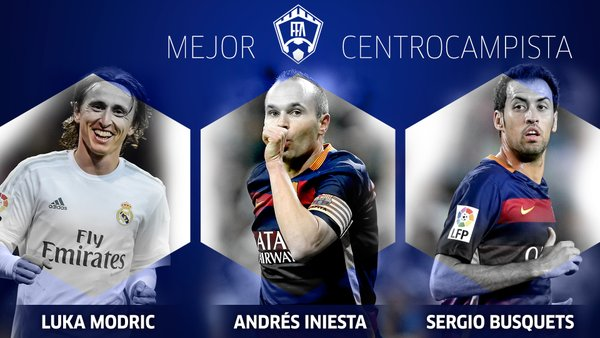 Marca Facebook Awards Centrocampista Version Final