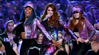 LAS VEGAS, NV - MAY 22: Recording artist Meghan Trainor performs onstage during the 2016 Billboard Music Awards at T-Mobile Arena on May 22, 2016 in Las Vegas, Nevada. Kevin Winter/Getty Images/AFP == FOR NEWSPAPERS, INTERNET, TELCOS & TELEVISION USE ONLY ==
