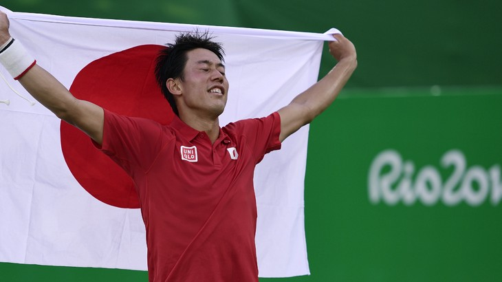 Kei Nishikori Río 2016 Version Final