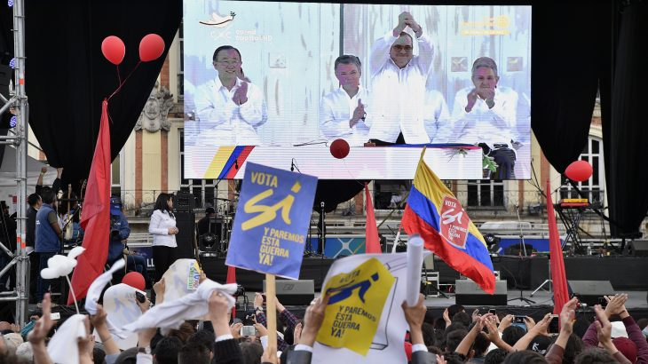 COLOMBIA-CONFLICT-PEACE-CELEBRATIONS